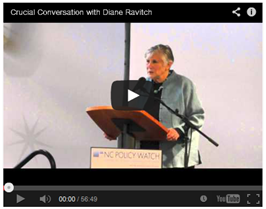 A Crucial Conversation with Diane Ravitch