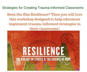 Strategies for Creating Trauma-Informed Schools/Classrooms
