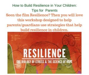 Building Resilience Children/Fostering a Trauma-Informed PTA