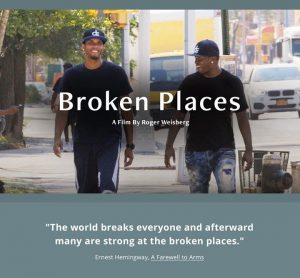 Broken Places: After-Film Live Webinar Discussion April 7th 7pm