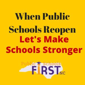 When Public Schools Reopen: A Conversation w/Education Leaders @ Public Schools First NC | Raleigh | NC | United States